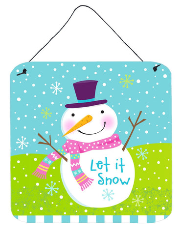 Buy this Christmas Snowman Let it Snow Wall or Door Hanging Prints VHA3017DS66