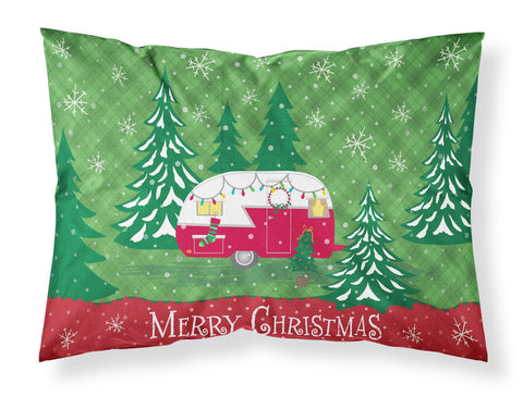 Buy this Christmas Vintage Glamping Trailer Fabric Standard Pillowcase VHA3018PILLOWCASE