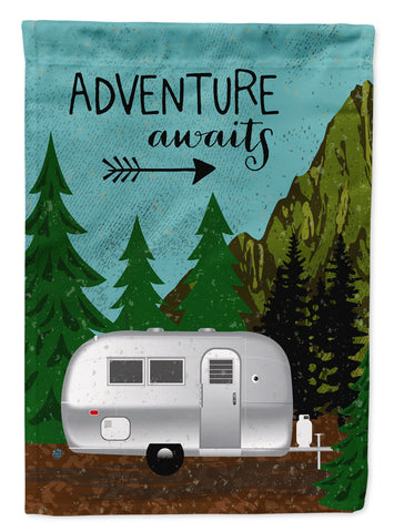 Buy this Airstream Camper Adventure Awaits Flag Garden Size VHA3022GF