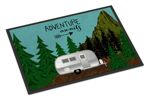 Buy this Airstream Camper Adventure Awaits Indoor or Outdoor Mat 18x27 VHA3022MAT
