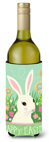 Buy this Easter Bunny Rabbit Wine Bottle Beverge Insulator Hugger VHA3023LITERK