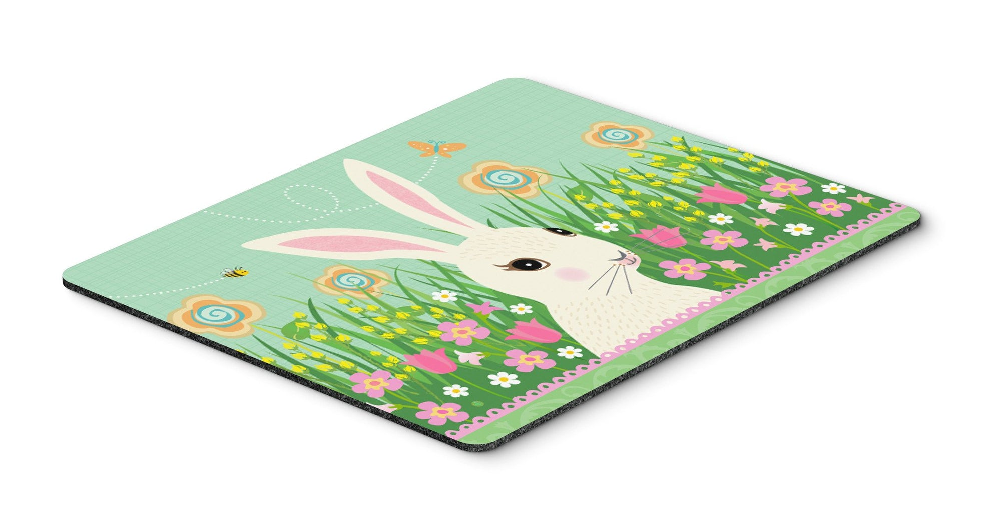 Easter Bunny Rabbit Mouse Pad, Hot Pad or Trivet VHA3023MP by Caroline's Treasures