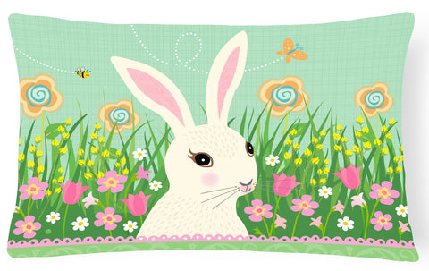 Buy this Easter Bunny Rabbit Canvas Fabric Decorative Pillow VHA3023PW1216