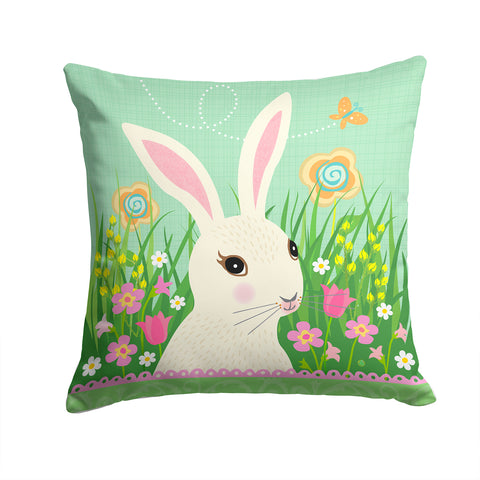 Buy this Easter Bunny Rabbit Fabric Decorative Pillow VHA3023PW1414