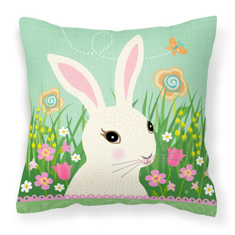 Buy this Easter Bunny Rabbit Fabric Decorative Pillow VHA3023PW1818
