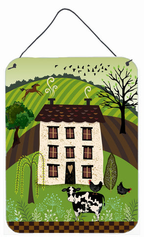 Buy this Folk Art Country House Wall or Door Hanging Prints VHA3024DS1216