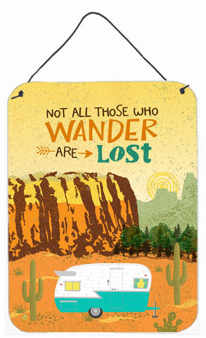 Buy this Retro Camper Camping Wander Wall or Door Hanging Prints VHA3025DS1216