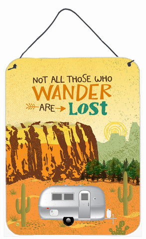 Buy this Airstream Camper Camping Wander Wall or Door Hanging Prints VHA3026DS1216