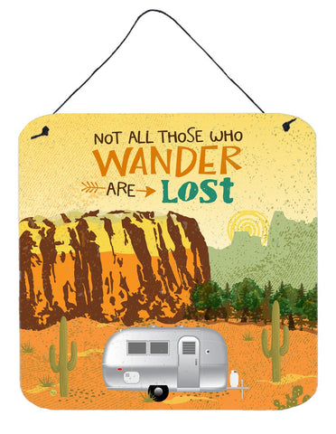 Buy this Airstream Camper Camping Wander Wall or Door Hanging Prints VHA3026DS66