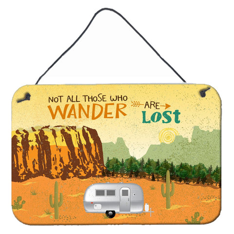 Buy this Airstream Camper Camping Wander Wall or Door Hanging Prints VHA3026DS812