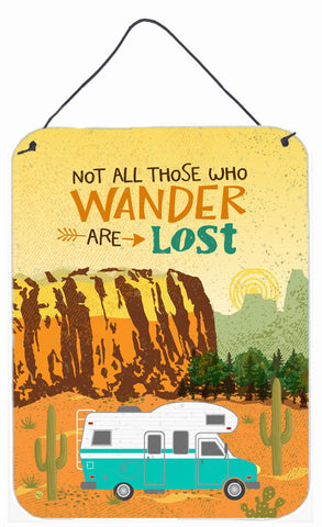 Buy this RV Camper Camping Wander Wall or Door Hanging Prints VHA3027DS1216