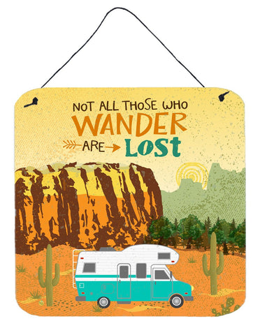Buy this RV Camper Camping Wander Wall or Door Hanging Prints VHA3027DS66