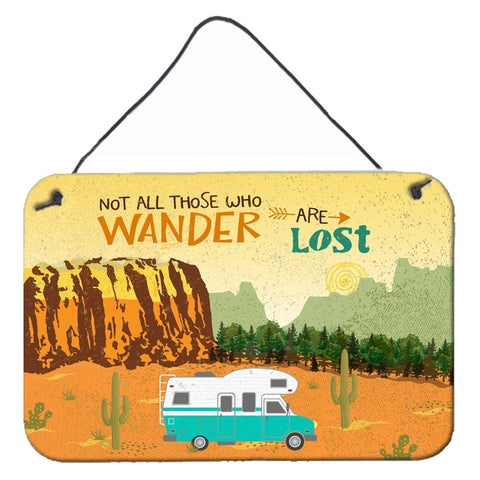 Buy this RV Camper Camping Wander Wall or Door Hanging Prints VHA3027DS812