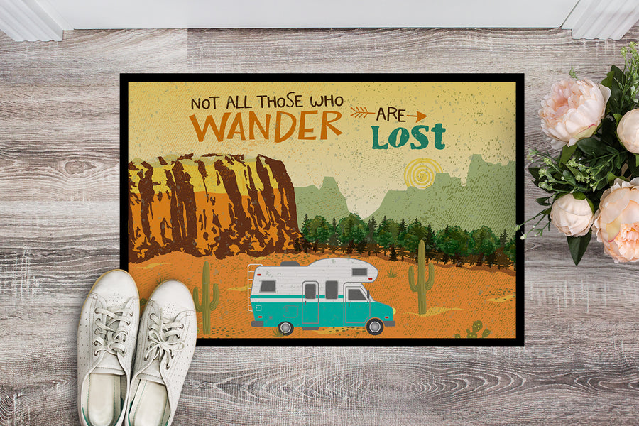 Buy this RV Camper Camping Wander Indoor or Outdoor Mat 18x27 VHA3027MAT