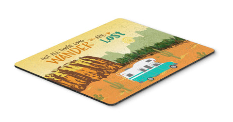 Buy this RV Camper Camping Wander Mouse Pad, Hot Pad or Trivet VHA3027MP