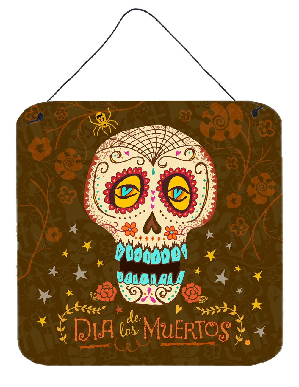 Day of the Dead Wall or Door Hanging Prints by Caroline's Treasures