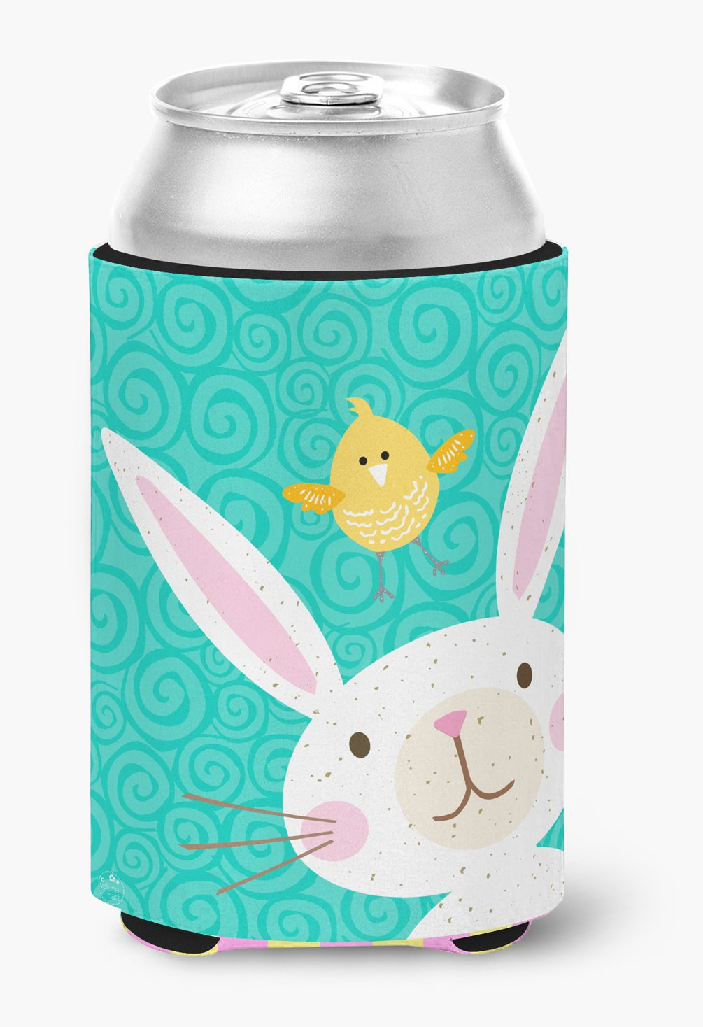 Buy this Happy Easter Rabbit Can or Bottle Hugger VHA3032CC