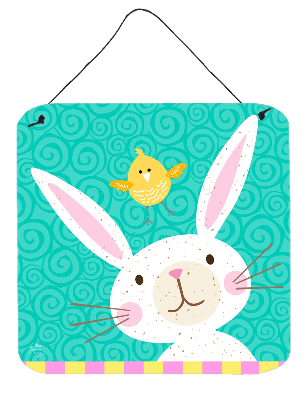 Buy this Happy Easter Rabbit Wall or Door Hanging Prints