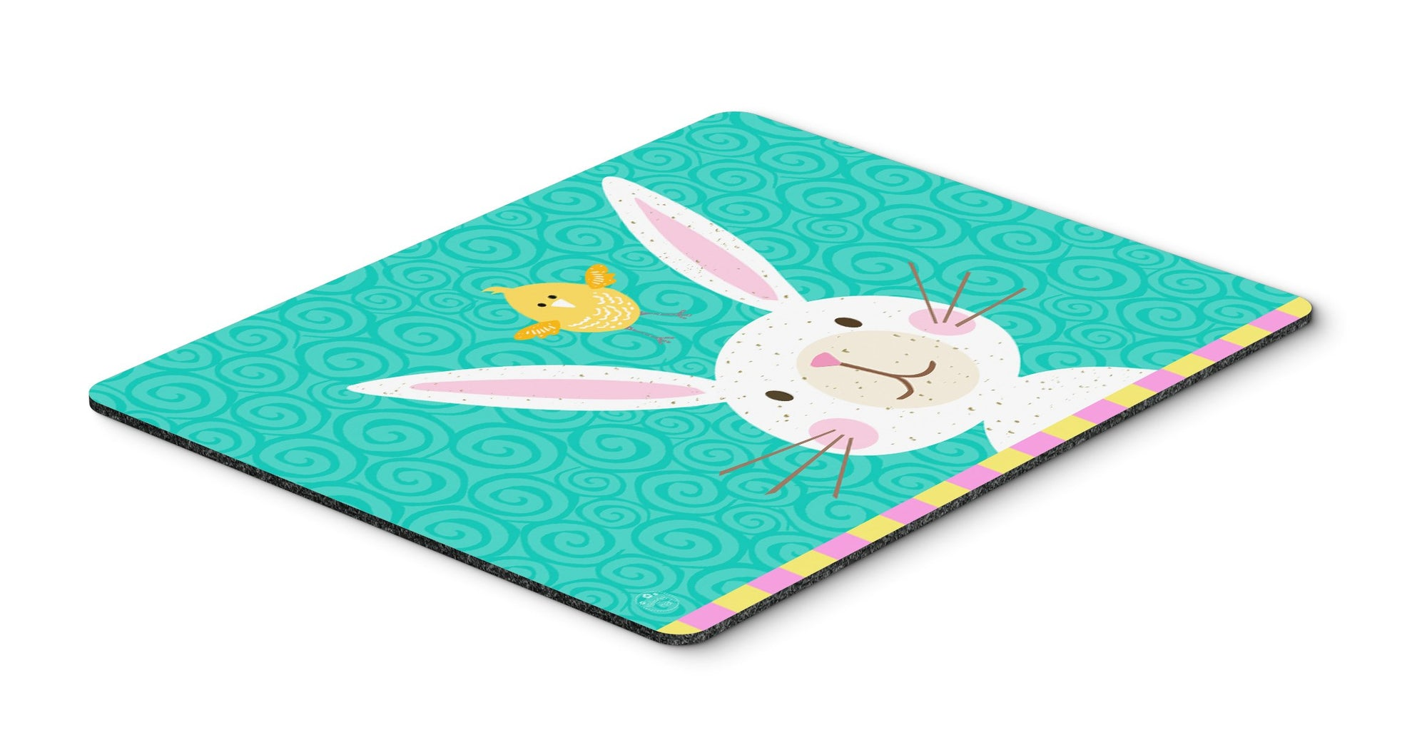 Happy Easter Rabbit Mouse Pad, Hot Pad or Trivet VHA3032MP by Caroline's Treasures