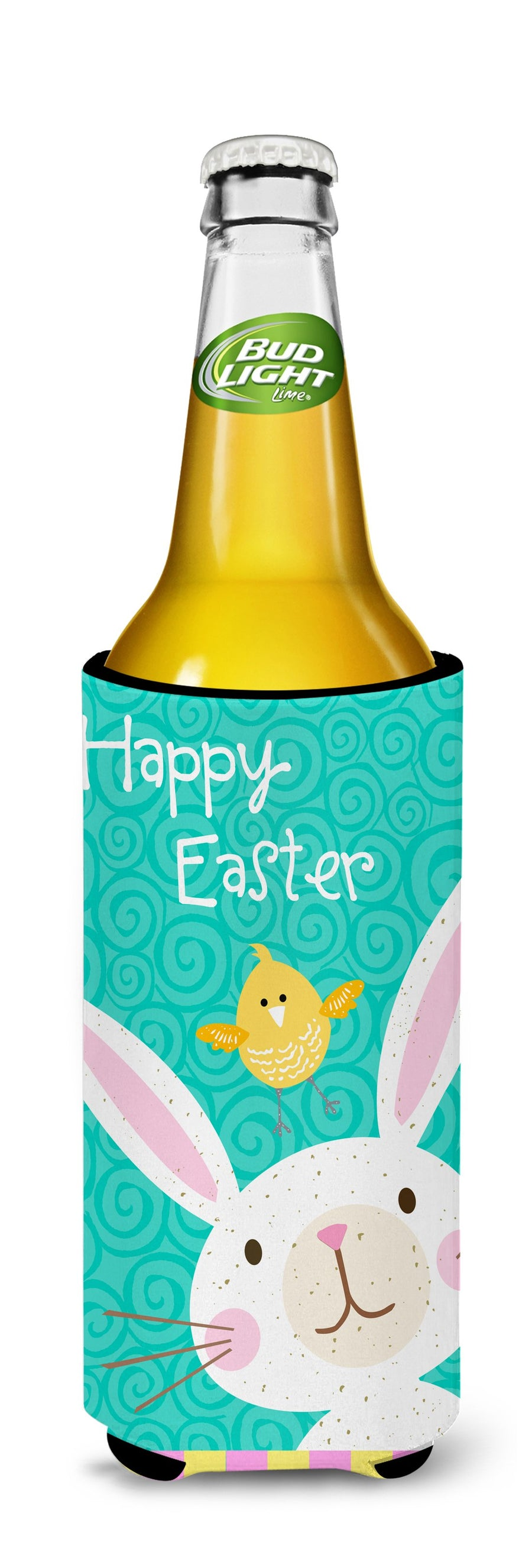 Buy this Happy Easter Rabbit Michelob Ultra Hugger for slim cans VHA3032MUK