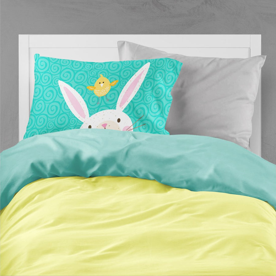 Buy this Happy Easter Rabbit Fabric Standard Pillowcase VHA3032PILLOWCASE