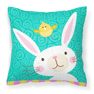 Buy this Happy Easter Rabbit Fabric Decorative Pillow VHA3032PW1818