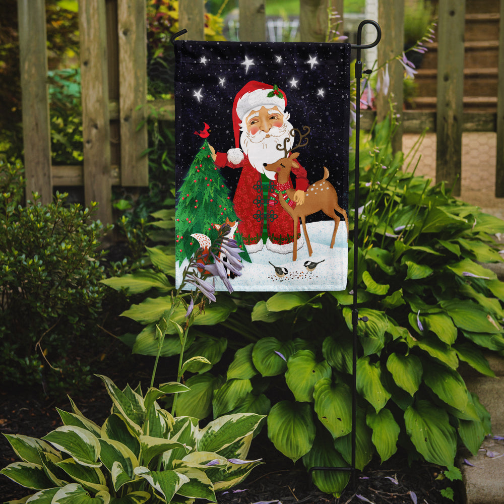 Santa Claus Christmas Flag Garden Size VHA3033GF by Caroline's Treasures