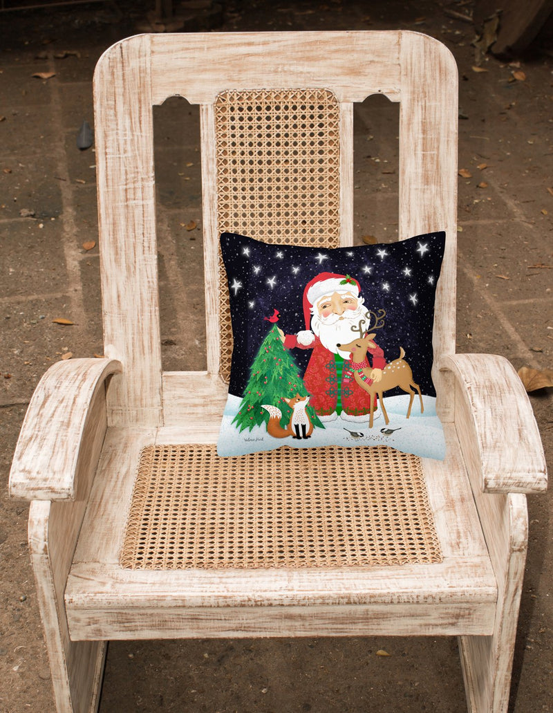 Buy this Santa Claus Christmas Fabric Decorative Pillow VHA3033PW1818