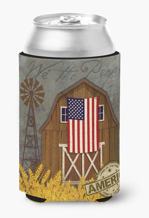 Buy this Patriotic Barn Land of America Can or Bottle Hugger VHA3036CC