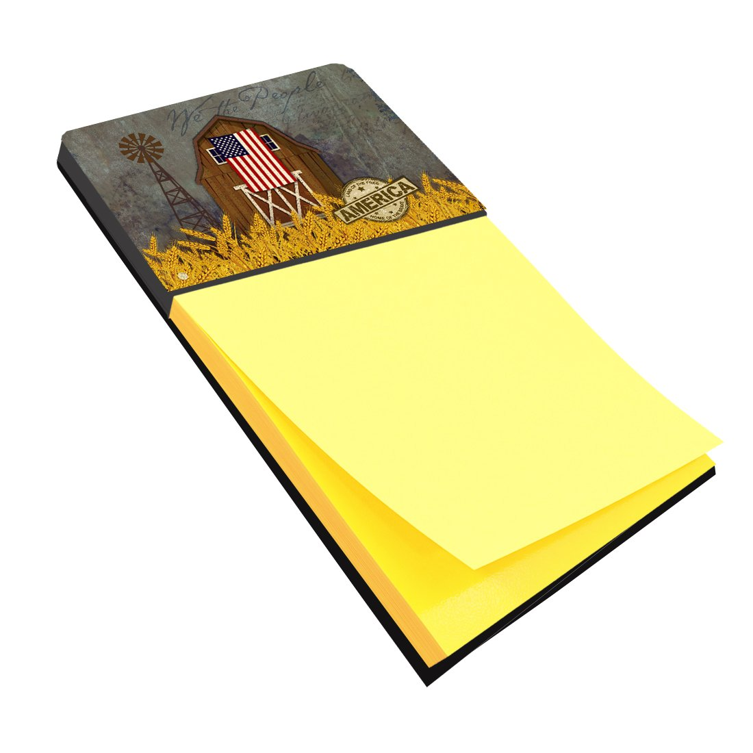 Buy this Patriotic Barn Land of America Sticky Note Holder VHA3036SN