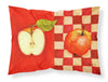 Apple by Ute Nuhn Fabric Standard Pillowcase WHW0122PILLOWCASE by Caroline's Treasures