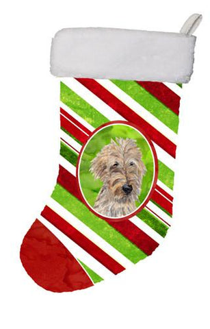 Buy this Golden Doodle Candy Cane Christmas Christmas Stocking SC9619-CS