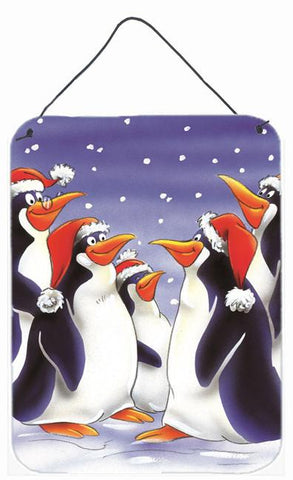 Buy this Holiday Penguins Wall or Door Hanging Prints AAH7264DS1216