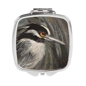 Buy this Night Heron Compact Mirror JMK1219SCM