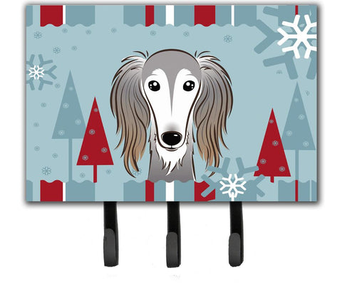 Buy this Winter Holiday Saluki Leash or Key Holder BB1725TH68
