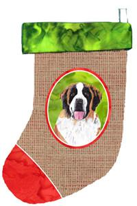 Buy this Saint Bernard Christmas Stocking