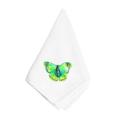 Buy this Bright Green Butterfly Napkin 8863NAP