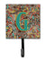 Letter G Retro Tribal Alphabet Initial Leash or Key Holder CJ2013-GSH4 by Caroline's Treasures