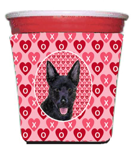 Buy this Australian Kelpie  Red Solo Cup Beverage Insulator Hugger