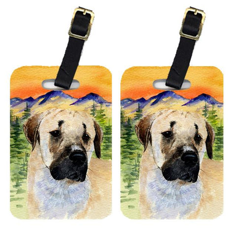 Buy this Pair of 2 Anatolian Shepherd Luggage Tags