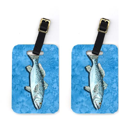 Buy this Pair of Fish - Trout Luggage Tags