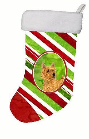 Buy this Norwich Terrier Winter Snowflakes Christmas Stocking SS4568