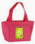Buy this Letter W Monogram - Lime Green Zippered Insulated School Washable and Stylish Lunch Bag Cooler CJ1010-W-PK-8808