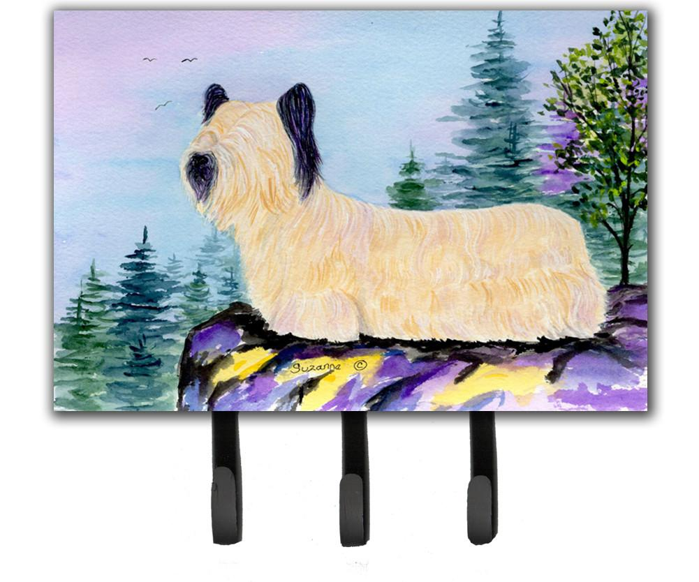 Skye Terrier Leash Holder or Key Hook by Caroline's Treasures