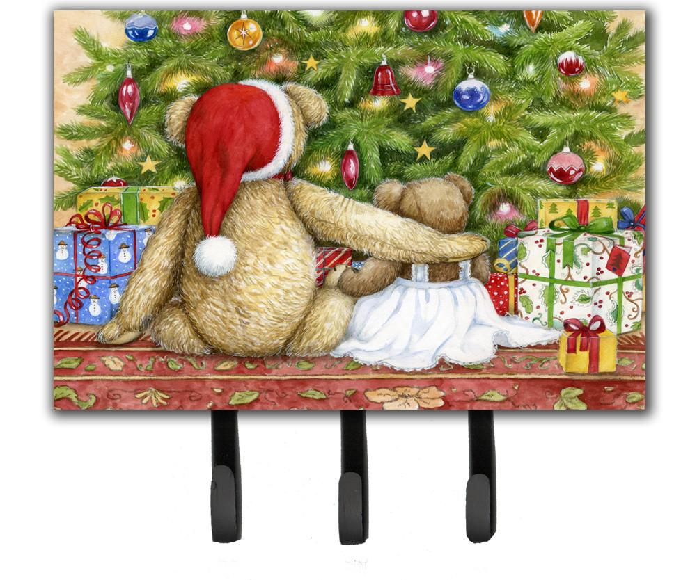 Christmas Teddy Bears with Tree Leash or Key Holder CDCO0415TH68 by Caroline's Treasures