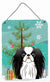 Christmas Tree and Japanese Chin Wall or Door Hanging Prints BB1602DS1216 by Caroline's Treasures