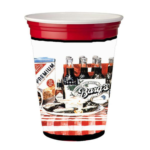 Buy this Barq's oysters Red Solo Cup Beverage Insulator Hugger