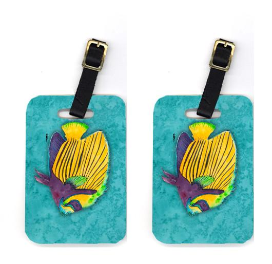 Buy this Pair of Tropical Fish Luggage Tags