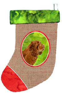 Buy this Sussex Spaniel Christmas Stocking SS2072
