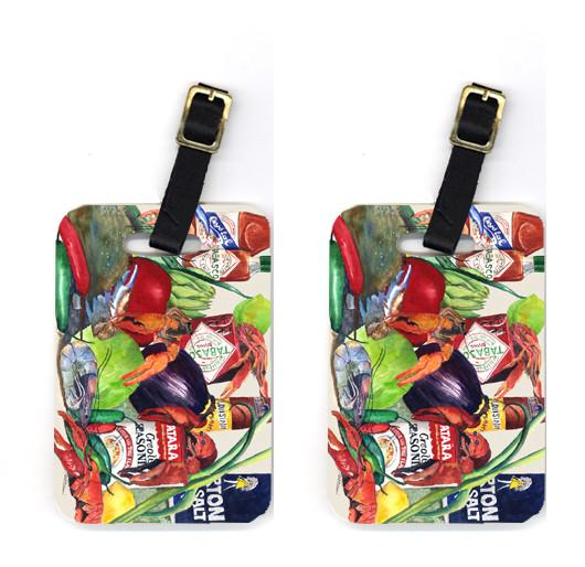 Buy this Pair of Louisana Spices Luggage Tags